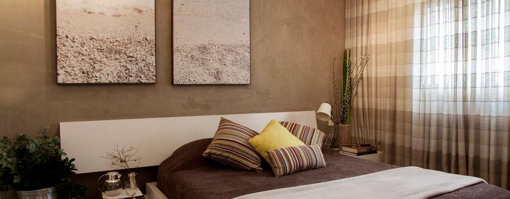20 habitaciones de matrimonio con fantásticas ideas para las paredes