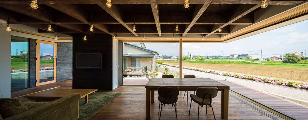 industriële Eetkamer door murase mitsuru atelier