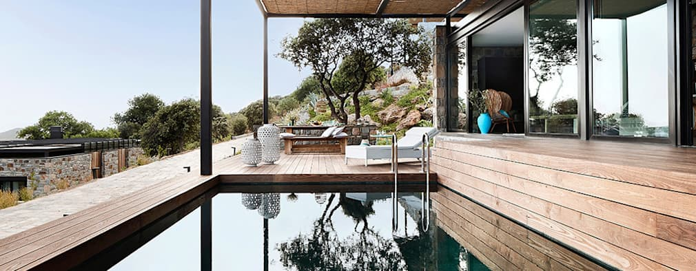 modern Pool by Engel & Völkers Bodrum