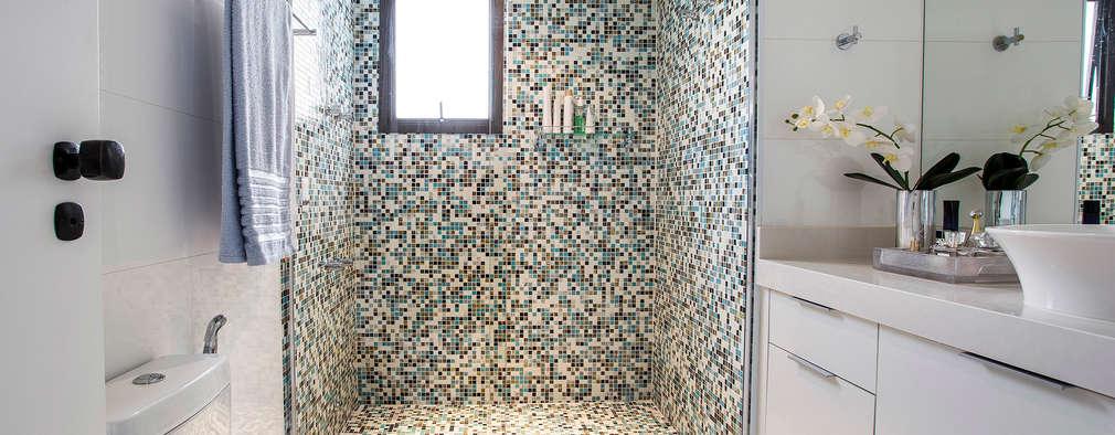 حمام تنفيذ Amanda Pinheiro Design de interiores