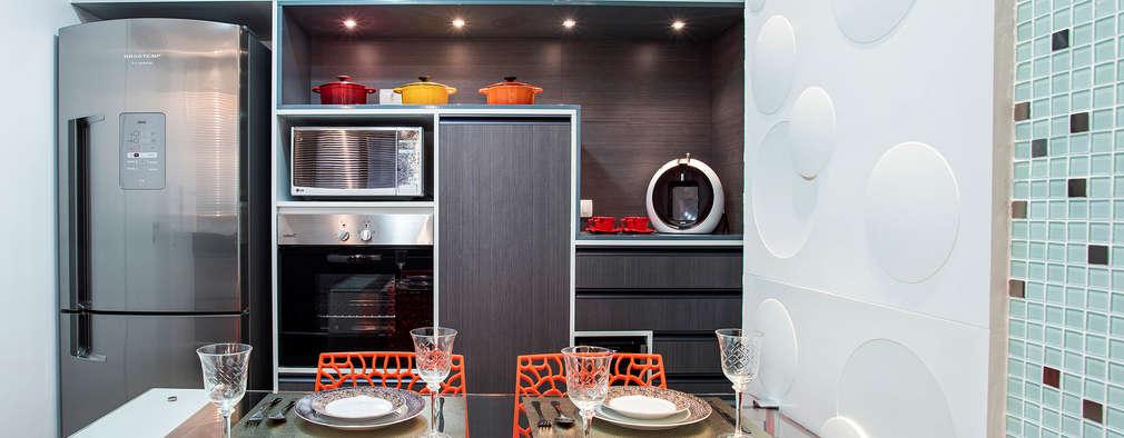 Amanda Pinheiro Design de interiores: modern tarz Mutfak