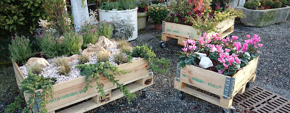 19 ideas de jardineras para espacios peque os for Jardineras para patios pequenos