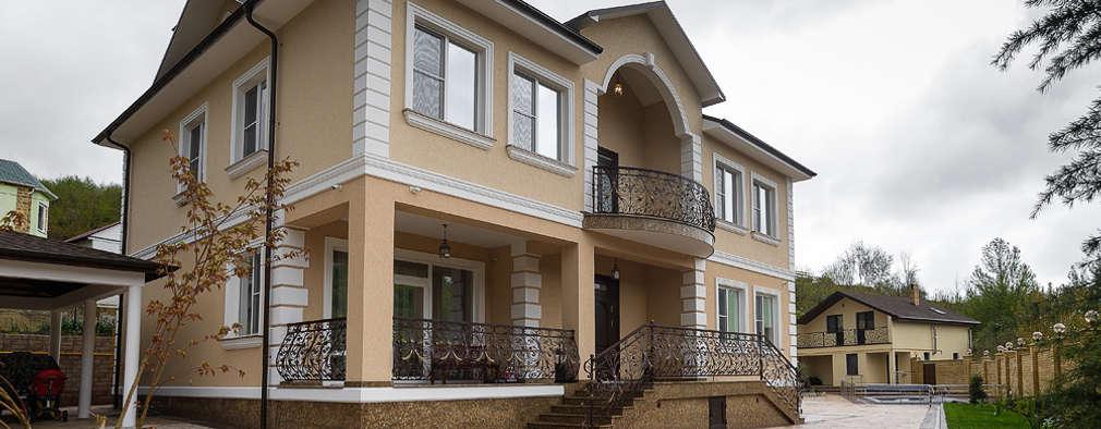 Casas de estilo clásico por Креазон