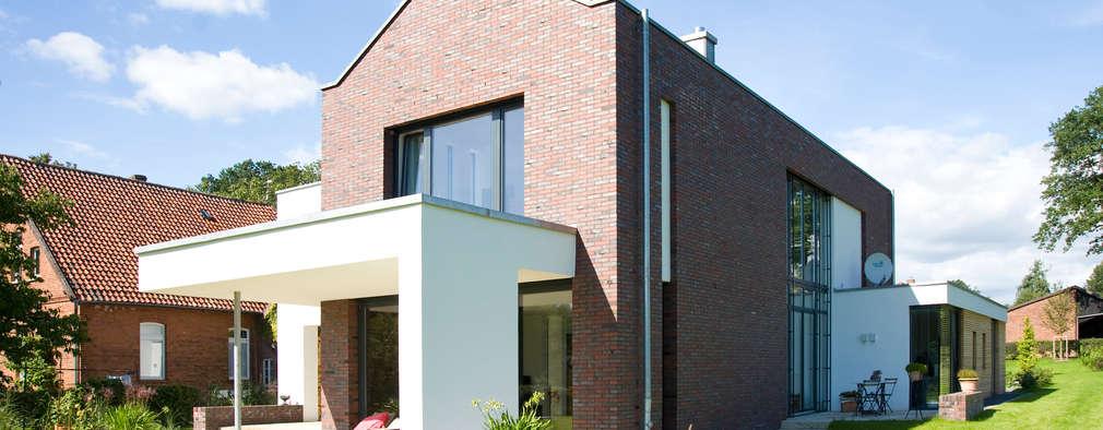 Projekty, nowoczesne Domy zaprojektowane przez Michelmann-Architekt GmbH