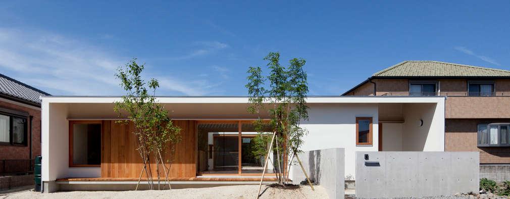 Projekty, nowoczesne Domy zaprojektowane przez 松原建築計画 / Matsubara Architect Design Office