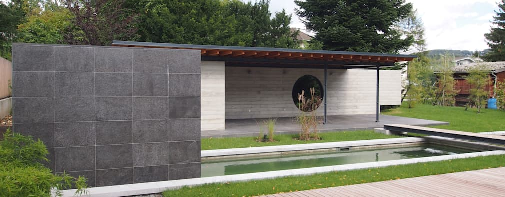 minimalistische Tuin door Peter Balogh | Architekt