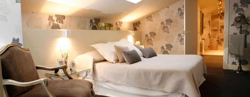 Decoración interior de duplex acogedor, Sube Susaeta Interiorismo - Sube Contract: Dormitorios de estilo clásico de Sube Susaeta Interiorismo