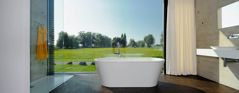 حمام تنفيذ schroetter-lenzi Architekten