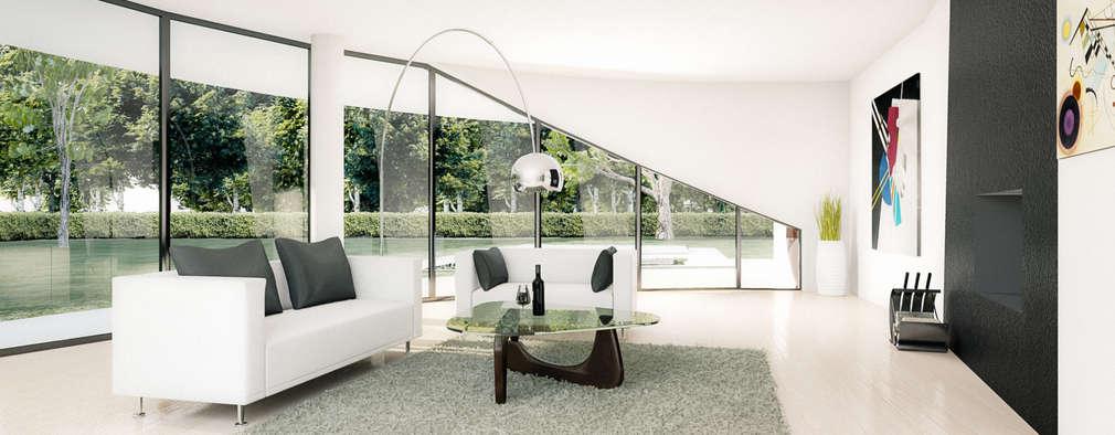 7 modi per ottenere subito uno stile minimalista chic in casa for Render casa minimalista