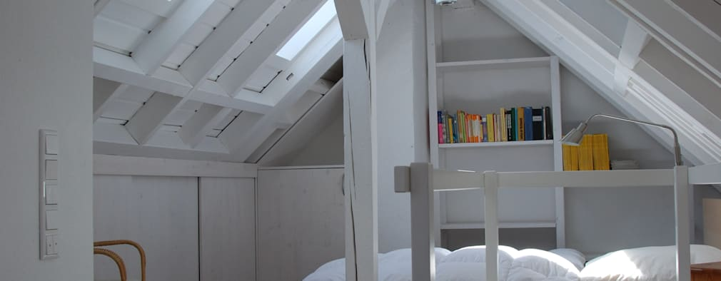 modern Bedroom by SIMONE JÜSCHKE INNEN ARCHITEKTUR