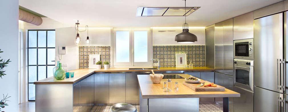 9 diseños de cocinas modernas ¡sensacionales!