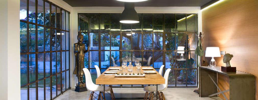Comedores de estilo moderno por Egue y Seta