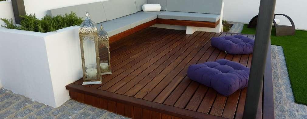 10 materiales para el piso de tu patio que en realidad no for Materiales para pisos exteriores