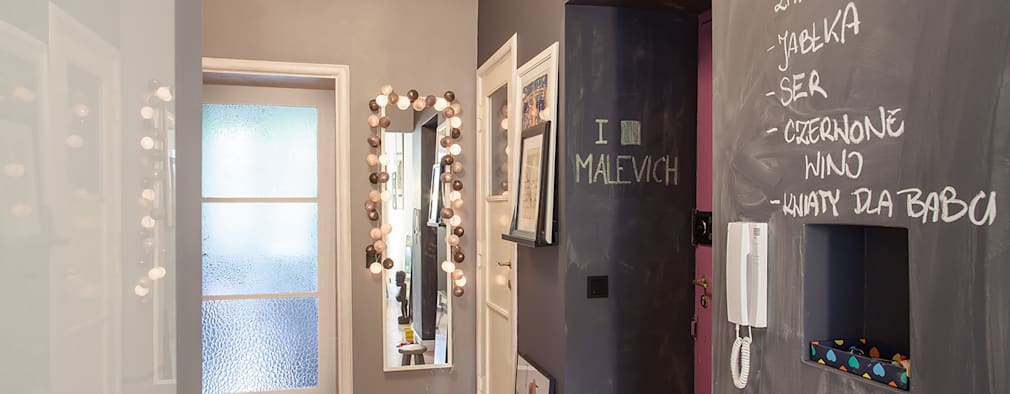 Gang en hal door Pink Pug Design Interior