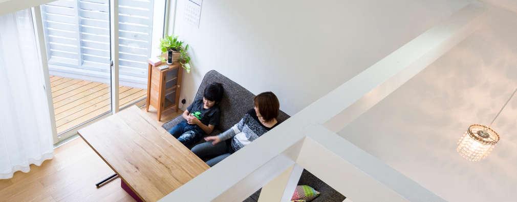 Salas de estar escandinavas por M設計工房