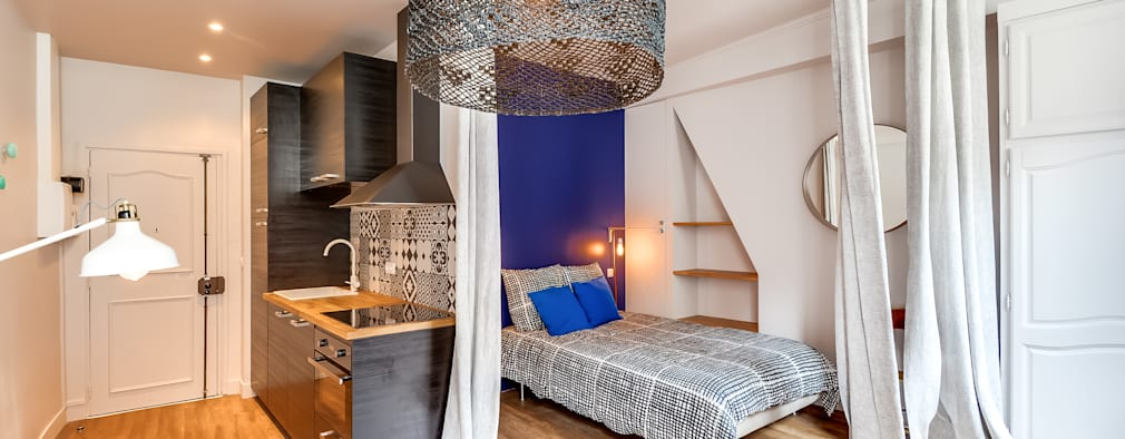 scandinavian Bedroom by blackStones