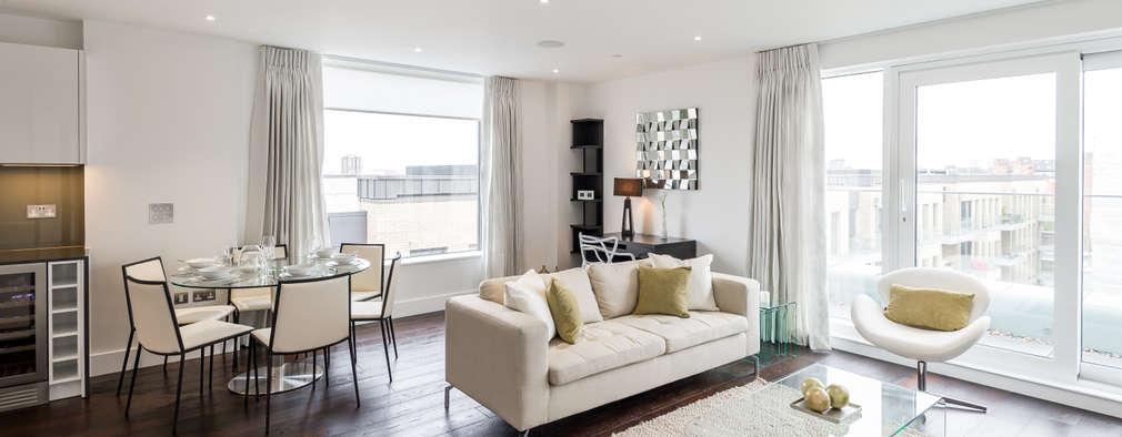 Salas de estilo moderno por In:Style Direct