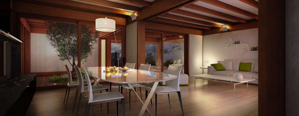 Salon de style de style Moderne par 3dforme