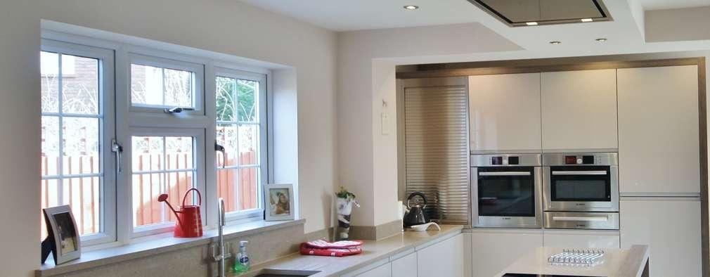 10 cocinas con campanas modernas para una cocina que enamore - Campanas modernas para cocinas ...