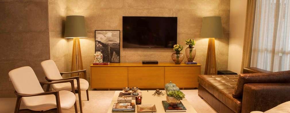 classic Living room by Carolina Fagundes - Arquitetura e Interiores