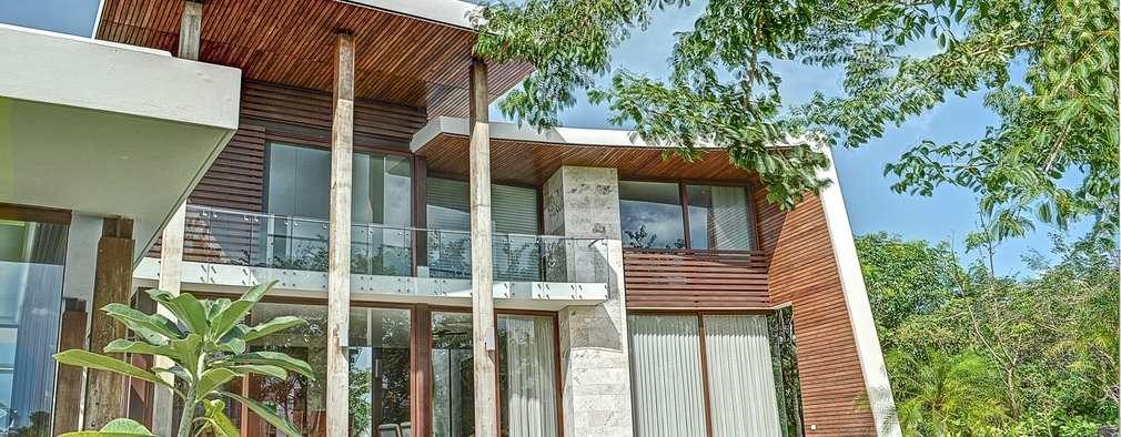 tropical Houses by Ancona + Ancona Arquitectos