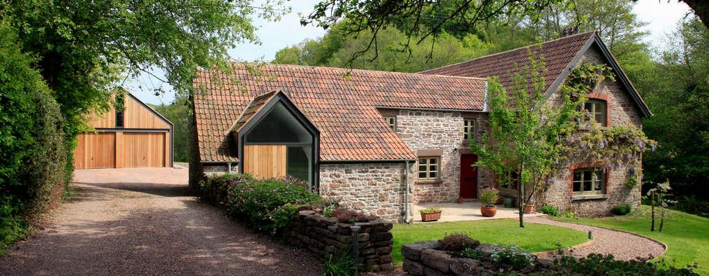 Hall + Bednarczyk Architects: kırsal tarz tarz Evler