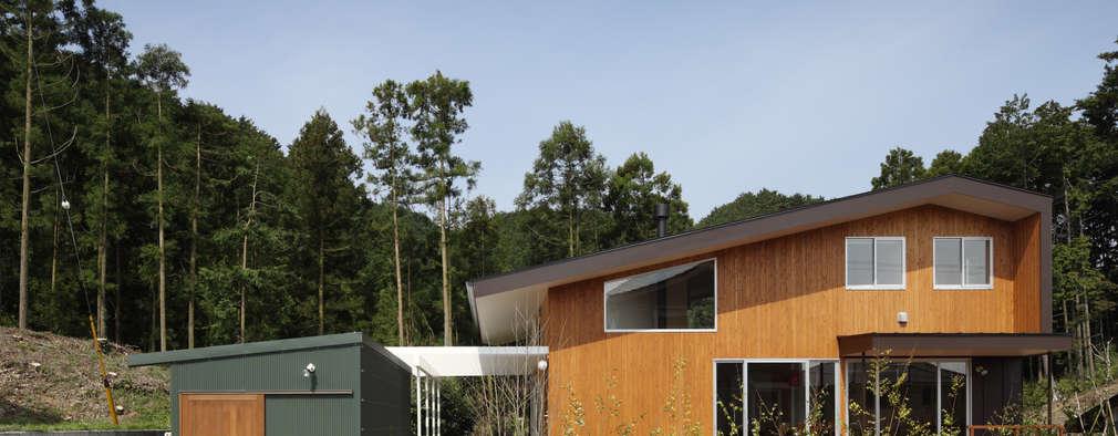 modern Houses by TAMAI ATELIER