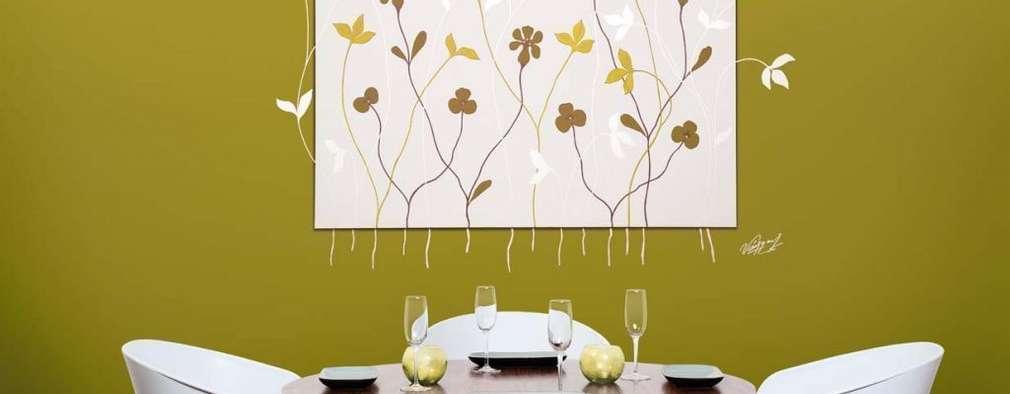 Comedores de estilo moderno por Murales Divinos