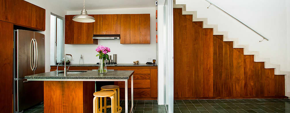 Barras de cocina peque as 15 geniales ejemplos Barras para cocinas pequenas