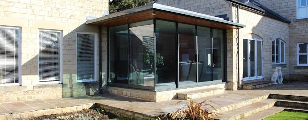 Modern extension for a traditional yorkshire house for Modern house yorkshire