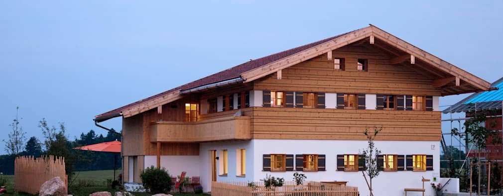 country Houses by w. raum Architektur + Innenarchitektur