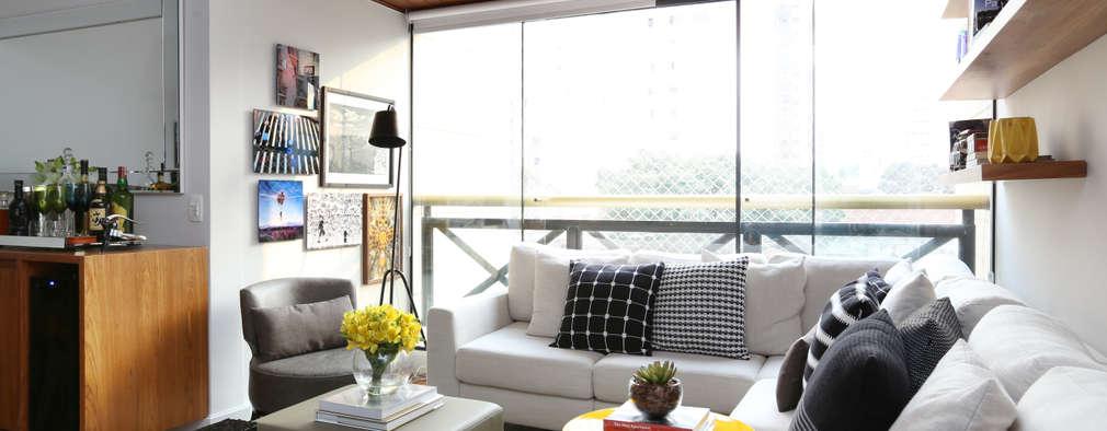 Fabulosas ideas para dise ar y decorar salas peque as - Disenar interiores online ...
