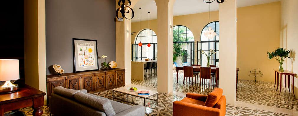Taller Estilo Arquitectura: kolonyal tarz tarz Oturma Odası