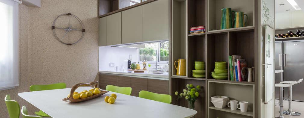 Cozinhas modernas por GUTMAN+LEHRER ARQUITECTAS