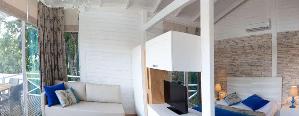 modern Bedroom by SAKLI GÖL EVLERİ
