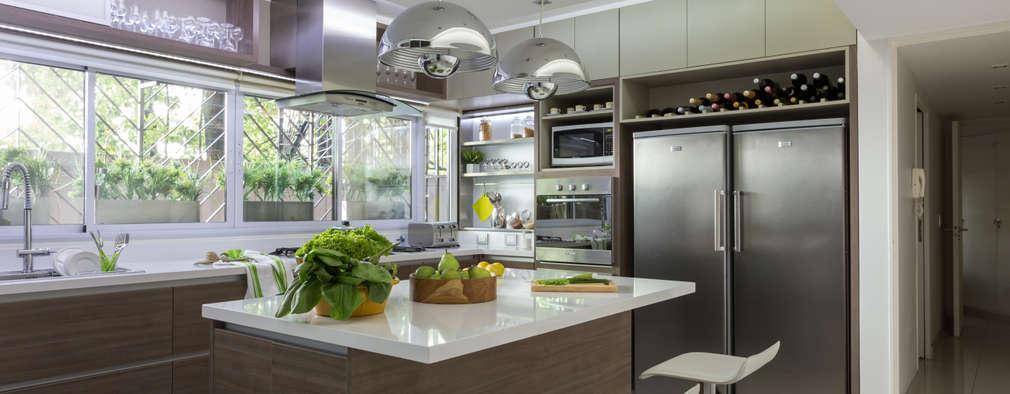 cocina: Cocinas de estilo moderno por GUTMAN+LEHRER ARQUITECTAS