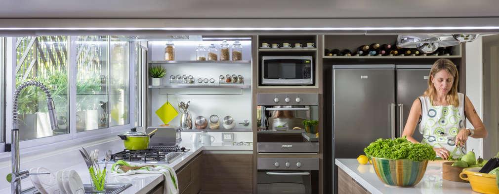 Cuisine de style de style Moderne par GUTMAN+LEHRER ARQUITECTAS