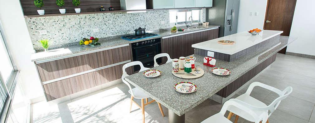 20 Fantastiche Cucine con Piani in Marmo e Granito