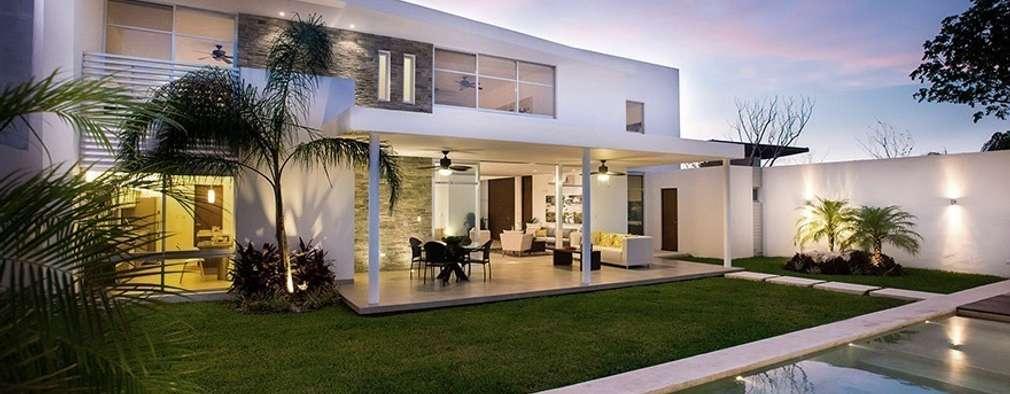 Maisons de style de style Moderne par Ancona + Ancona Arquitectos