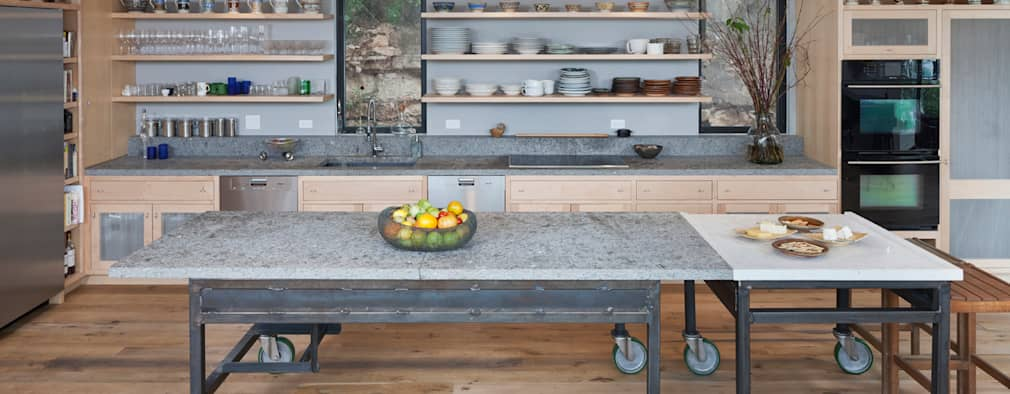 eclectic Kitchen by Specht Architects