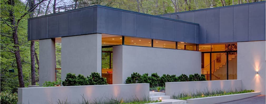 Projekty, nowoczesne Domy zaprojektowane przez Specht Architects