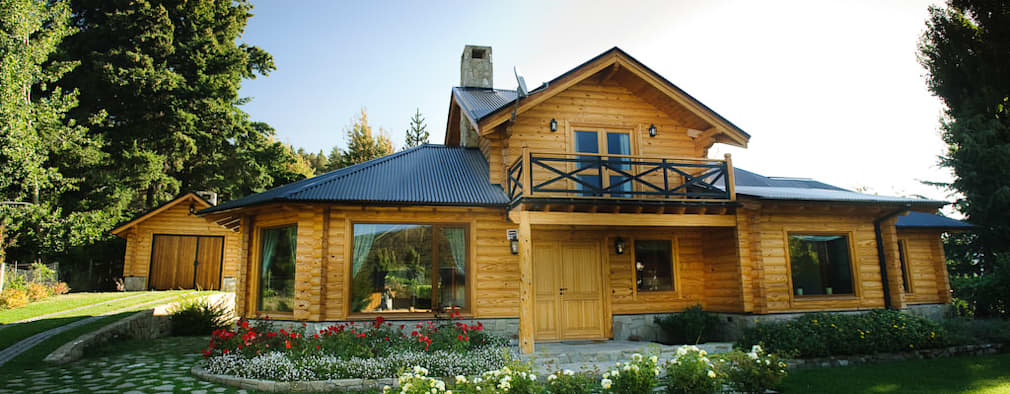 Nhà by Patagonia Log Homes