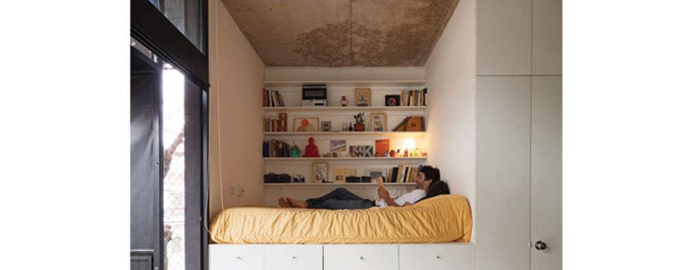 Una camera da letto piccola? 7 modi di sfruttare al massimo lo spazio