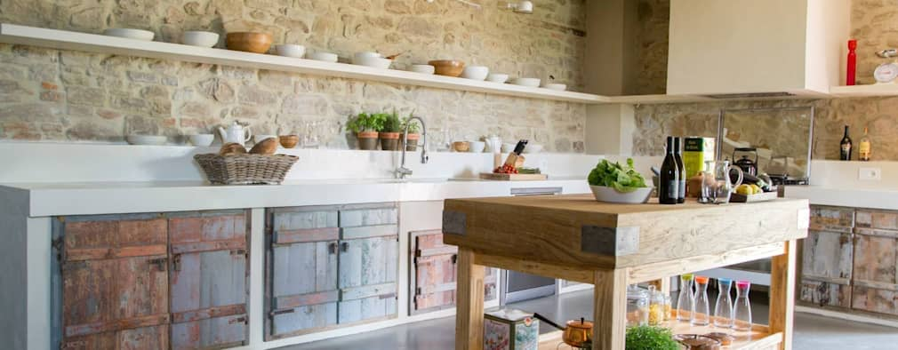Rustikale küchen  7 unwiderstehliche rustikale Küchen