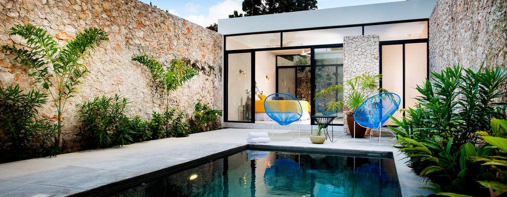 15 piscinas peque as que caben en cualquier patio for Piscinas pequenas para patios