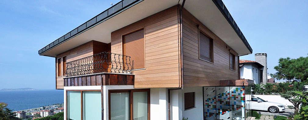 Emrah Yasuk – Dış cephe: modern tarz Evler