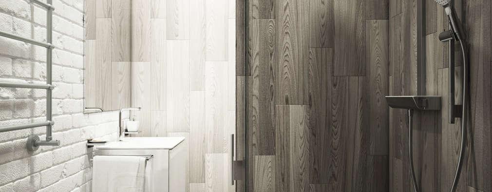 minimalistic Bathroom by Eclectic DesignStudio
