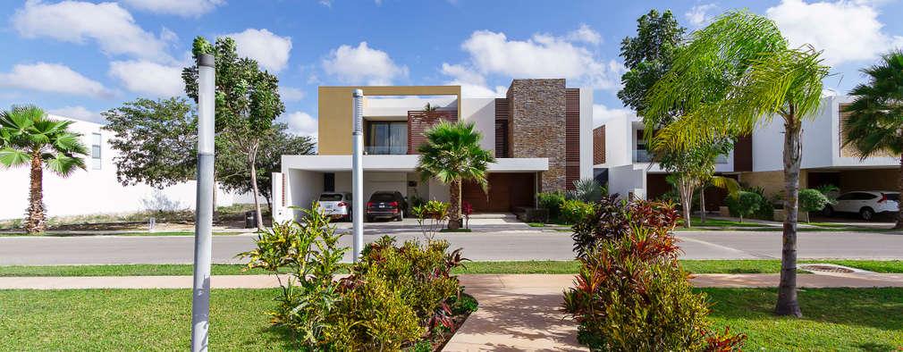 modern Houses by Enrique Cabrera Arquitecto