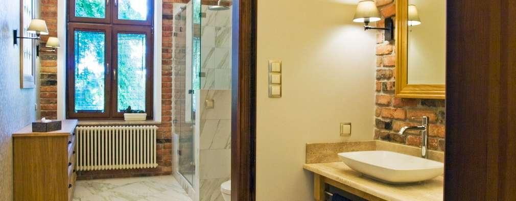 Ванные комнаты в . Автор – PROJEKT MB