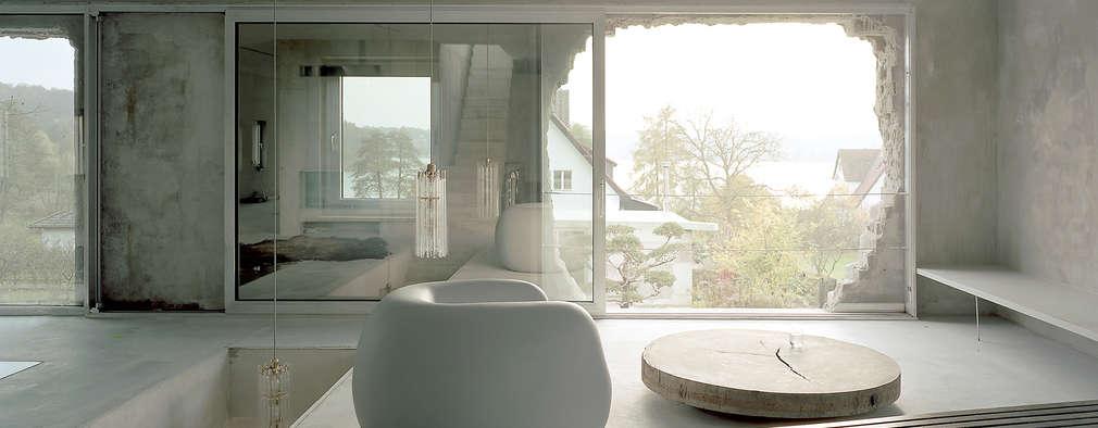ห้องนั่งเล่น by Brandlhuber+ Emde, Schneider